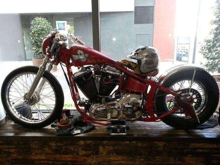 Harley Davidson softail OMT Garage