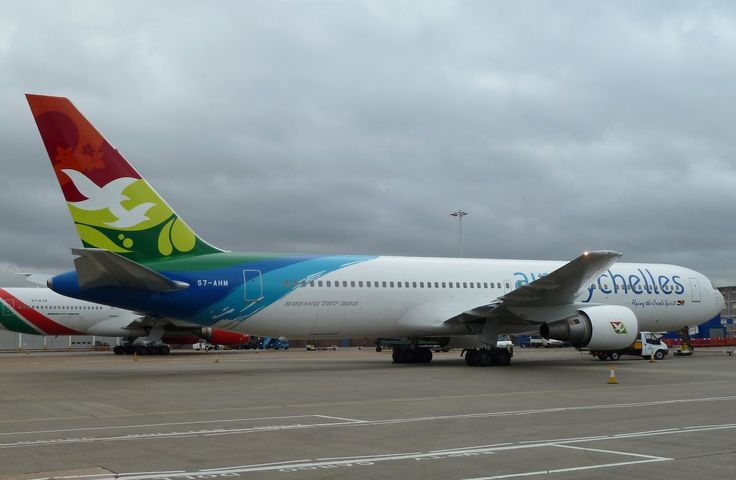 Air Seychelles 767-300.