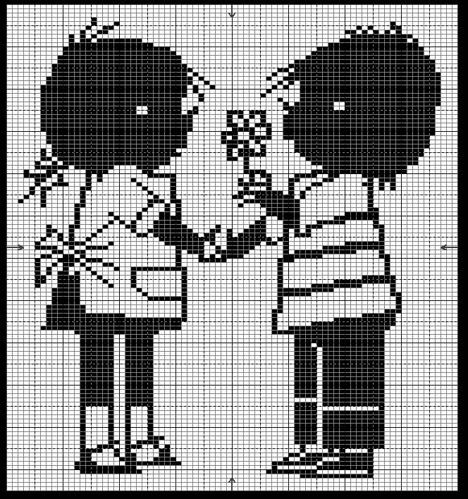 Jip and Janneke Embroidery Pattern