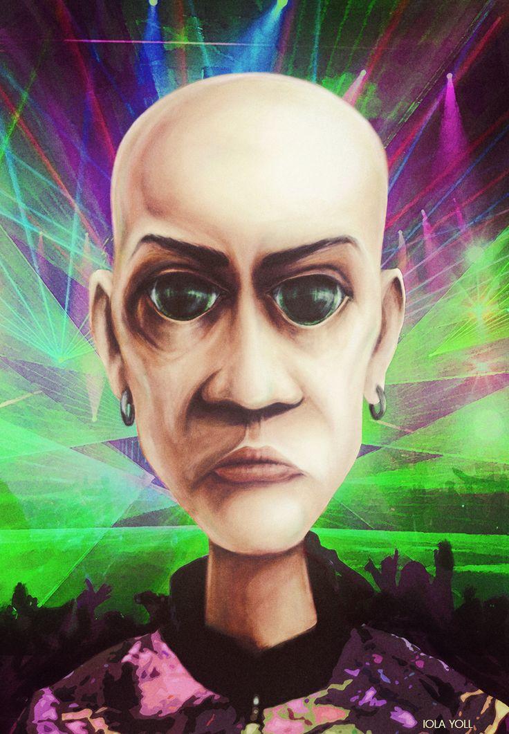 illustration for a gabber of a party https://vk.com/gabberattack #iolayoll #art #gabber #gabba #hardcore