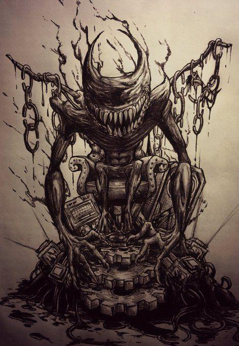 Machine Chibi And Ink Art Bendy