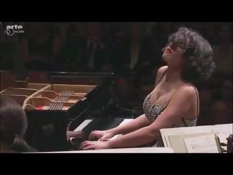 Khatia Buniatishvili - Liszt Piano Concerto No. 2 in A major, S. 125 - YouTube