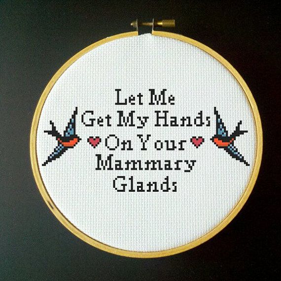 The Smiths  Let Me Get My Hands on Your Mammary Glands by LadyBeta, $3.00