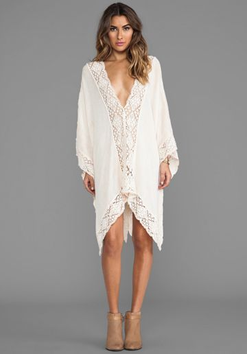 whimsical caftan dress