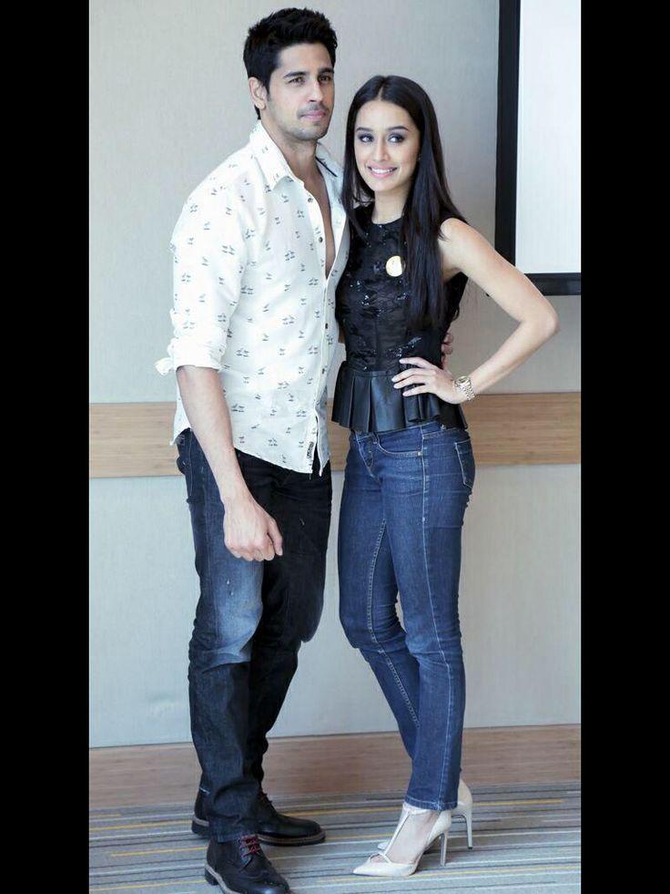 Cannot wait #ekvillain siddharth Malhotra and Shraddha Kapoor