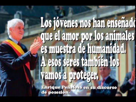 Alcalde Enrique Peñalosa ratifica que trabajará por la protección animal.