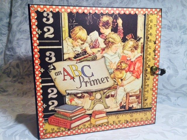 Crafting Passions: School Days- A Vintage Album