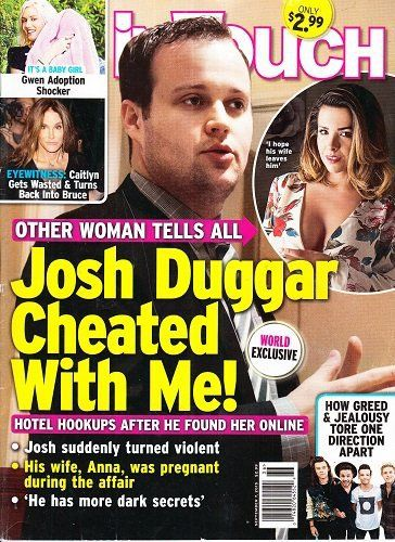 The Latest on Josh and Anna Duggar. Do you think that she should leave him?