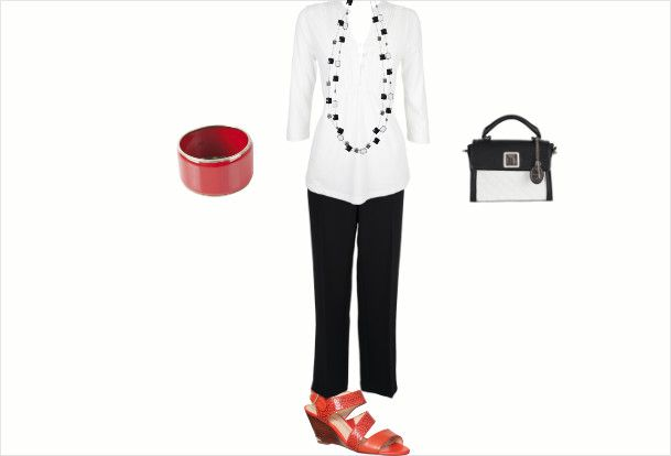 Office Chic by Angelina Pele