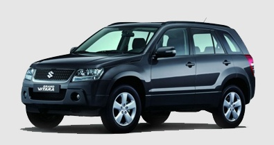The Suzuki Grand Vitara is a model under our SUV category.     The 4WD SUV seats 4-5 people with 5-7 pieces of luggage.     We recommend this vehicle for a fun, spacious and comfortable trip around beautiful Jamaica.