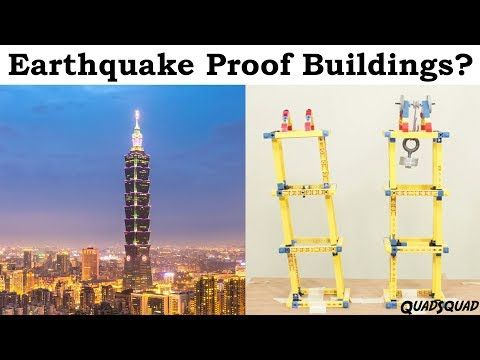 Earthquake Proof Buildings? Science Fair Project with Justin - YouTube