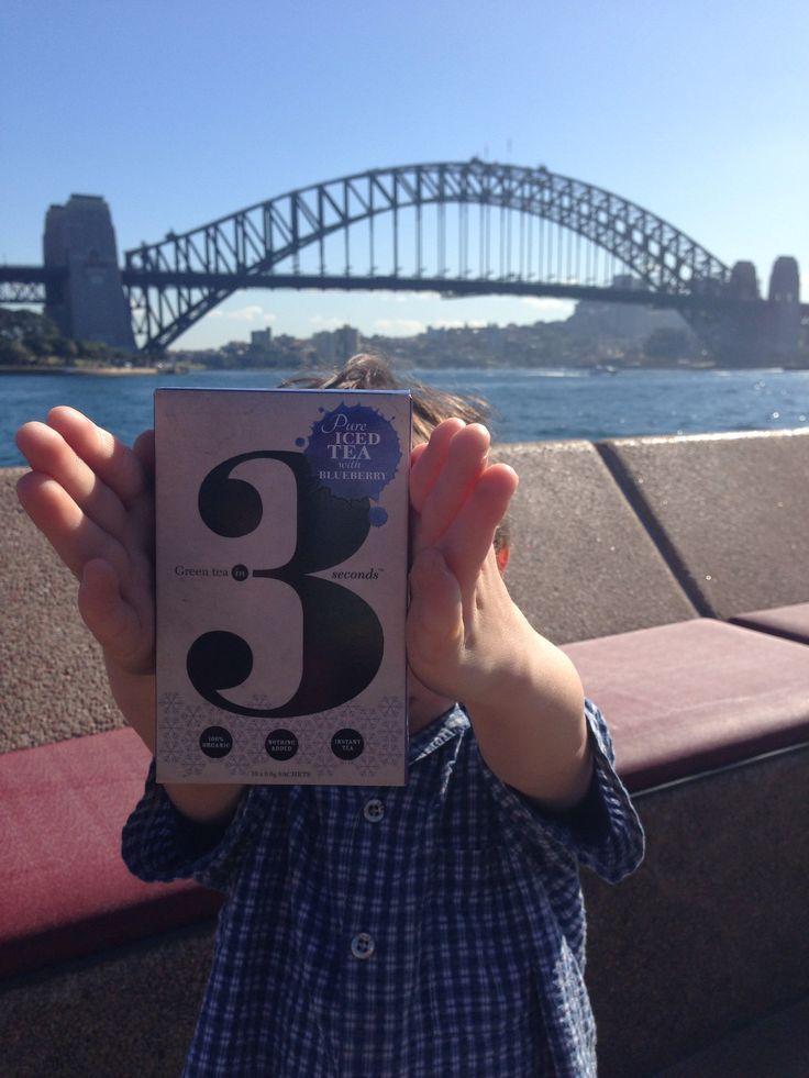 Green Tea In 3 hits Sydney :-)