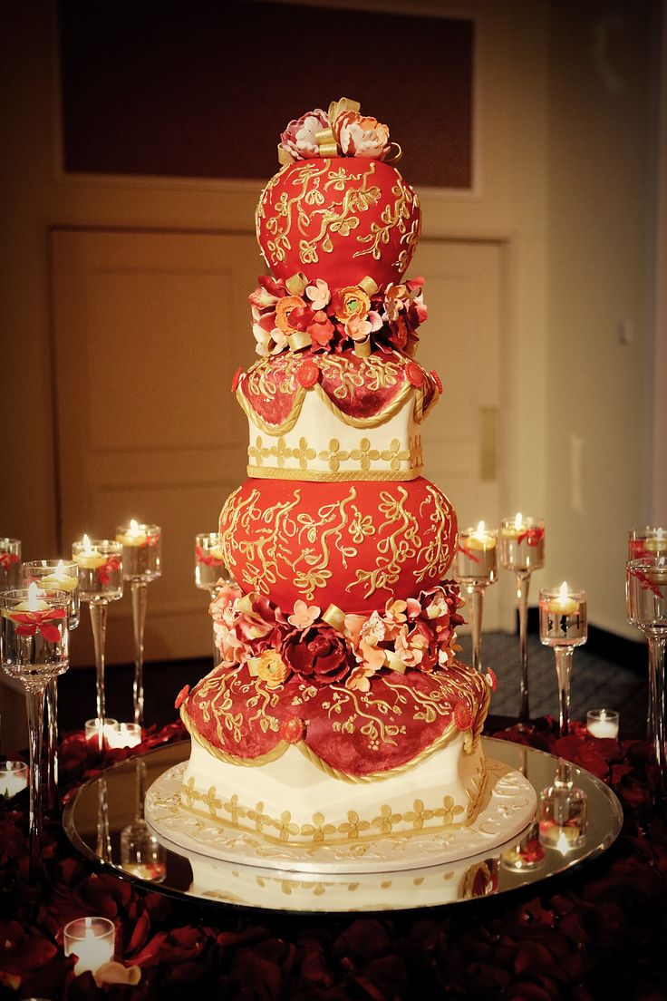 red wedding cake 17 best images about indian cakes on peacock 7028