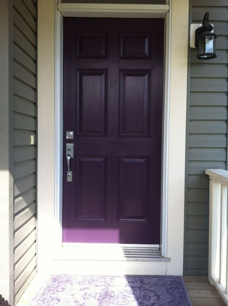 8 Best Front Door Purples Images On Pinterest Paint