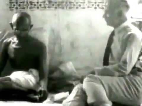 ▶ Mahatma Gandhi First Television Interview (30 April 1931) - YouTube