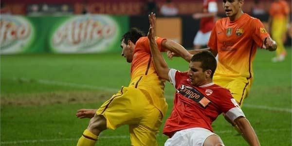 Cuplikan Gol Dinamo Bucuresti vs Barcelona - Cuplikan Gol Pertandingan Persahabatan Dinamo Bucuresti vs Barcelona