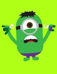 Minion Superheroe Hulk