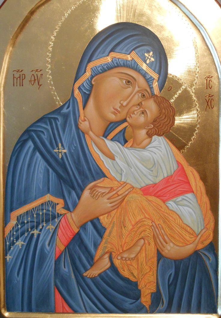 part. Eleousa di Dečani through the hand of Maria Teresa Battilana