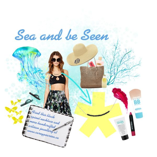Carey Pearson Designs: Sea and be Seen by careypearsondesigns on Polyvore featuring polyvore, fashion, style, Motel, Dolce&Gabbana, Tory Burch, Banana Republic, Nixon, Maybelline and Charlotte Tilbury