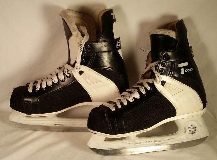CCM - Hockey Ice Skates - Tacks 152 - M Men's Size 9 - SL 2500 #CCM #vintagephilly