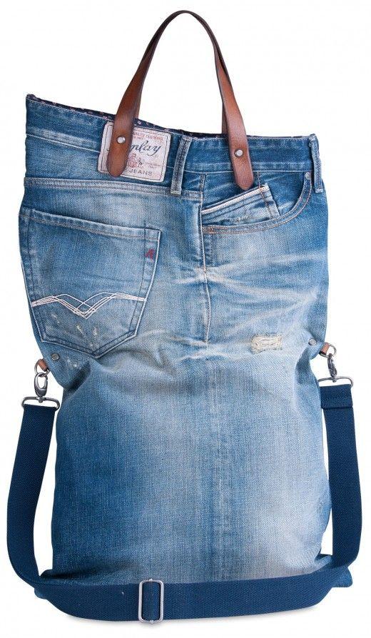 Denim Bag  | Accessories | Man | FW13 | Replay | REPLAY Online Shop