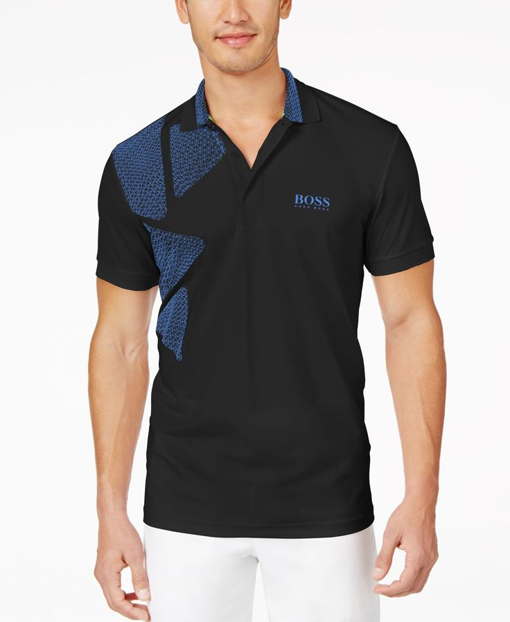 Boss Hugo Boss Paddy Pro Pyramid-Pieced Polo