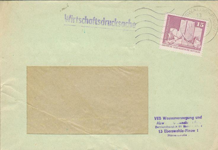 Eberswalde-Finow VEB Wasserversorgung und Abwasserbehandlung