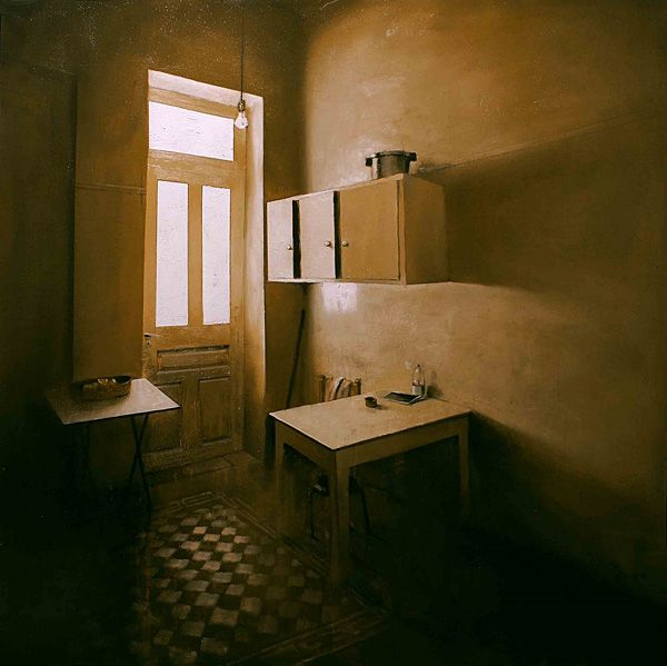 Paintings by Tasos Chonias - Faith is Torment