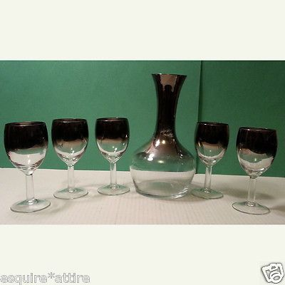 #wine Set of Decanter with 5 wine glasses visit our ebay store at  http://stores.ebay.com/esquirestore