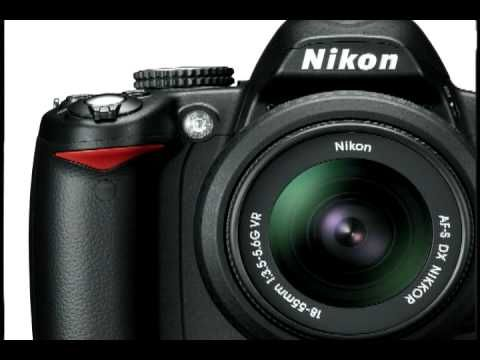 Nikon D3000 Camera Walkaround great tutorial about the camera's features