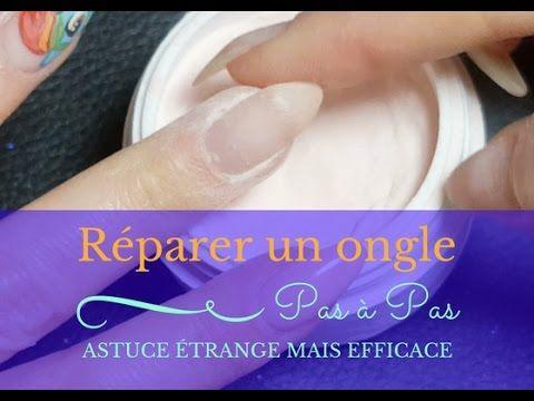 TUTO ONGLE I Comment réparer un ongle fissuré