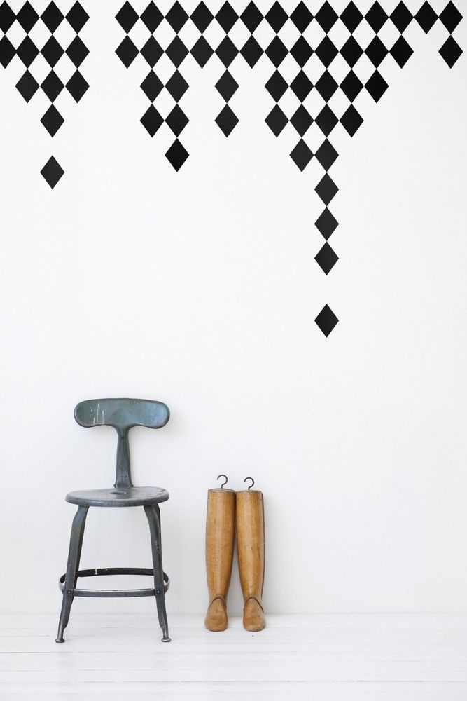 Ferm Living's wall stickers give new life to walls, furniture, windows, or anything with a flat surface, really. Our wall decals are easy to apply and simple to remove. Choose from our wide range of modern, bold designs to fit your personality!