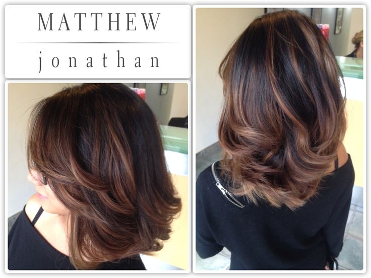 Matthew Jonathan hairstylist/oakville hair salon