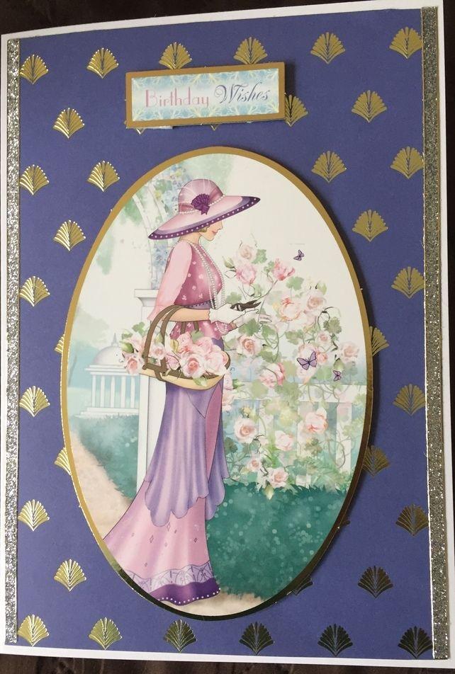 Art Deco Birthday Card Art Deco Art Birthday Cards