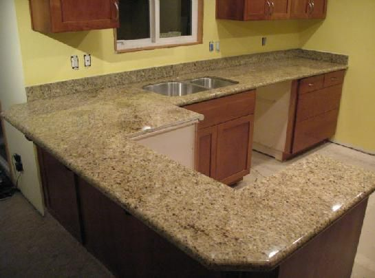 choosing+kitchen+countertop+color | Prefab Granite Countertops for Your Kitchen and Bathroom | Minimalist ...