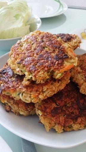 Tortas de verduras con hierbas quark 4   – Kochen ,Pikant,Salate,Suppen,Teigwaren