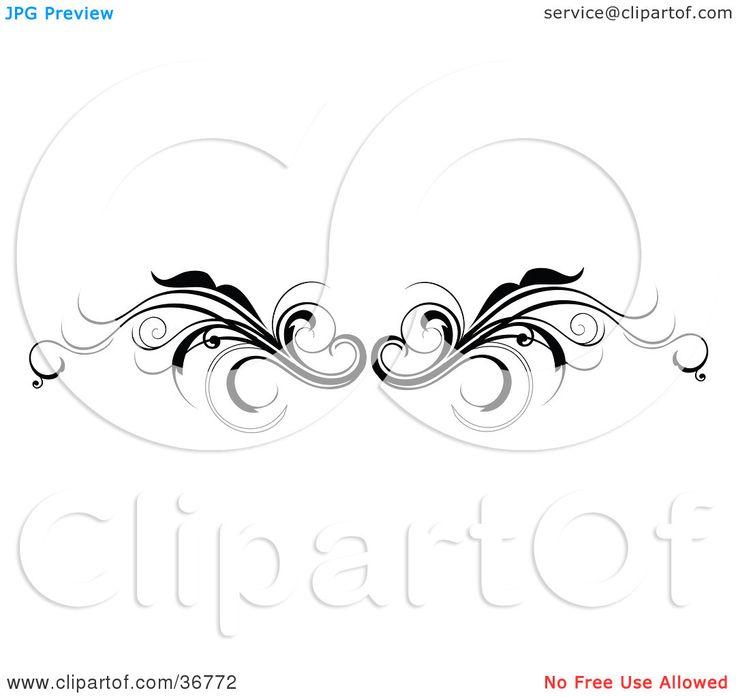 Starfish Tattoo Designs | ... Back Tattoo Design Or Flourish Resembling Wings by OnFocusMedia #36772