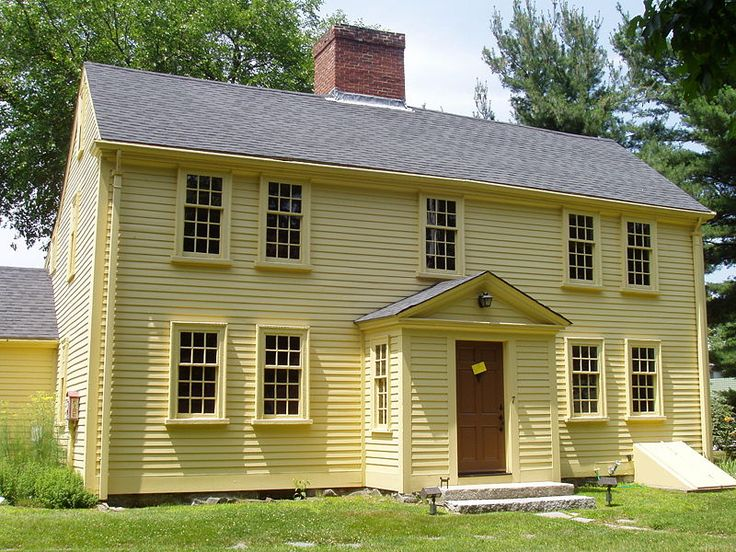 207 best images about colonial house exteriors on for New england colonial style