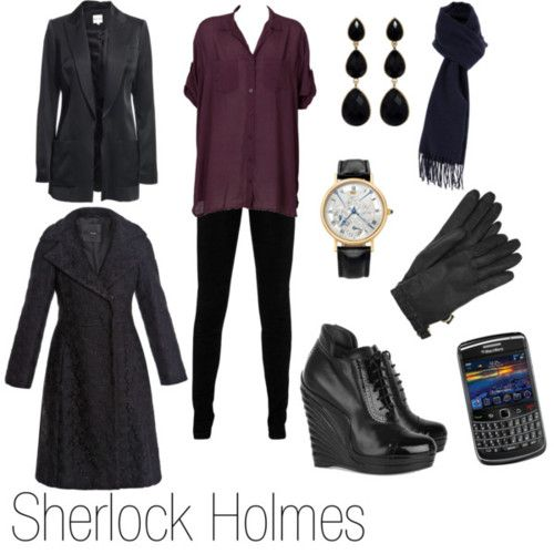 Sherlock Holmes Inspired Outfits! (click to see more)
