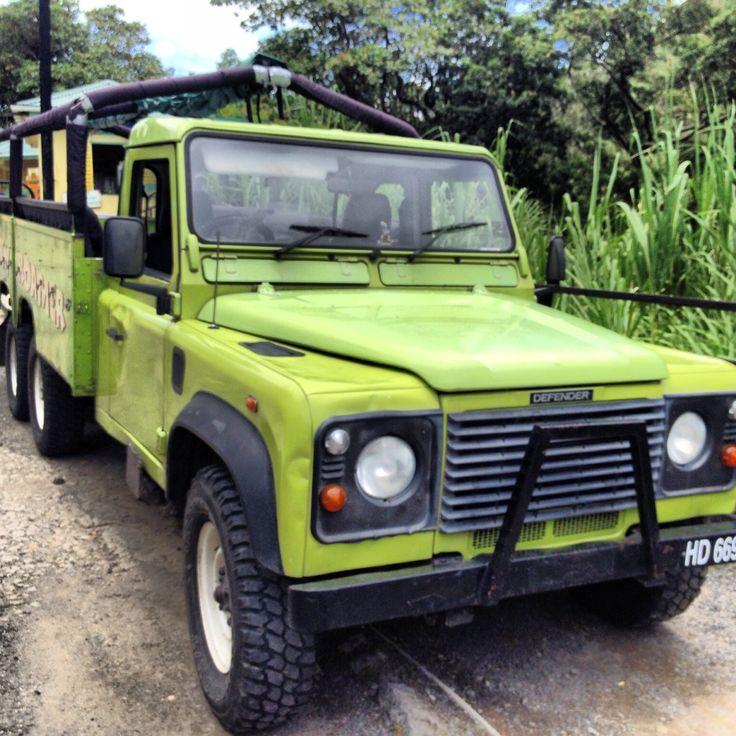 Safari Defender in Castries, St. Lucia Land rover, Car