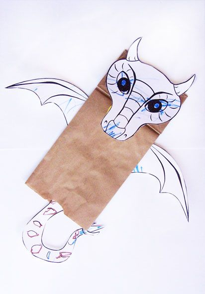 17 best images about dragons chinese new year tet on for Cardboard dragon template