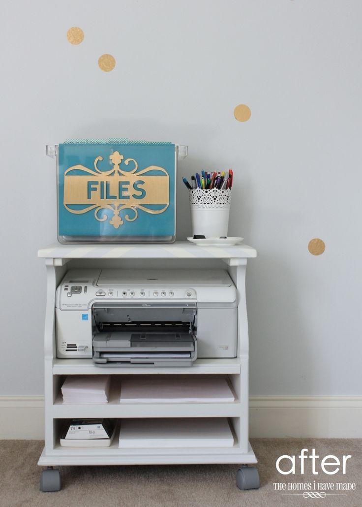 Best 25+ Printer stand ideas on Pinterest | Printer ...