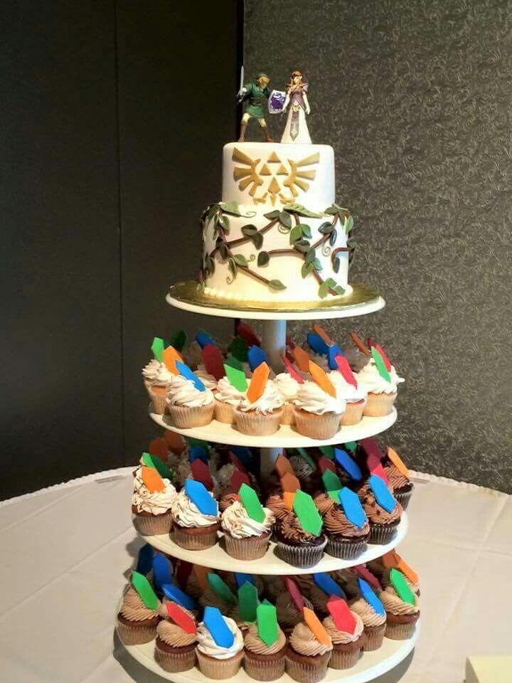 Legend of Zelda wedding cake (if I had 50 or less people)