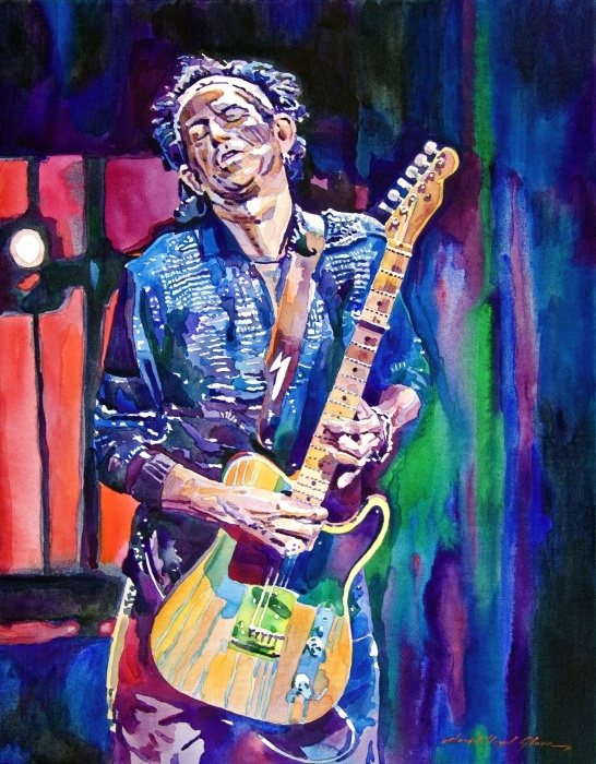 keith richards, this guys a freaky dude, but you gotta pay your dues if you wanna sing the blues and you know it helps if yer ugly