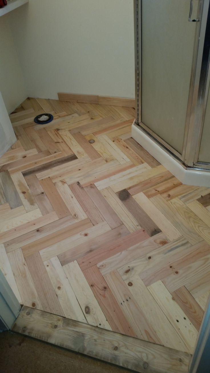 Pallet Wood Bathroom Floor Wood Bathroom Wood Pallets