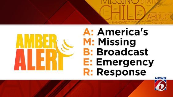 What is the difference between an AMBER Alert, Missing Child Alert?
