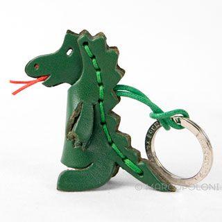 Dragon Leather Key Chain: cute key ring