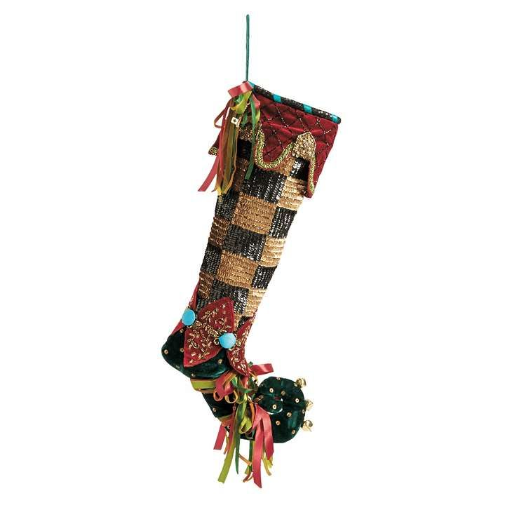 The 25 Best Green Christmas Stockings Ideas On Pinterest