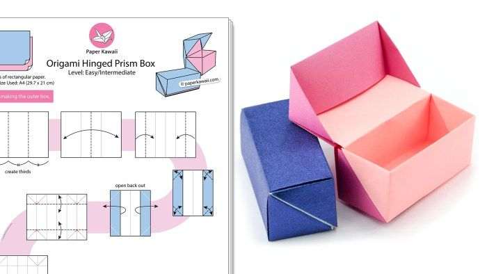 DIY Origami Gift Box - The Gift Of Mindful Giving   Origami For ...   394x700