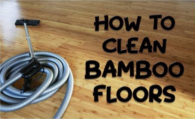 How To Clean Bamboo Floors Best Way To Keep It Shining Bamboo